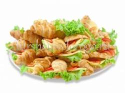 Круассаны с сырной начинкой, 25 шт