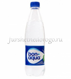 Бон аква газированная 0,5л