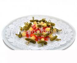 Мини закуска с бужениной и корнишоном, 15 шт
