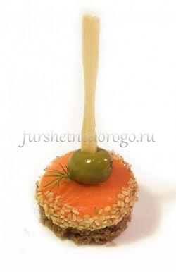 Семга с адыгейским сыром