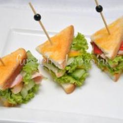 Мини-сэндвич с бужениной