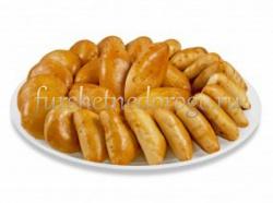 Мини-пирожки с яблоками, 15 шт.