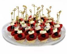 """Канапе сет """"Салями с сыром фета и маслинами"""", 20 шт"""