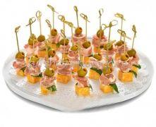 Итальянский бекон с сыром и оливкой, 20 шт