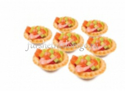 Мини-тарталетки с авокадо с креветкой - 20 шт