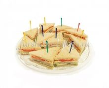 Сандвич с ветчиной и сыром, 10 шт