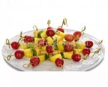 Канапе сет с сыром и фруктами, 20 шт