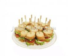Мини сандвичи из свиного биточка, 15 шт
