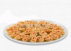 Тарталетка с печенью трески, 20 шт
