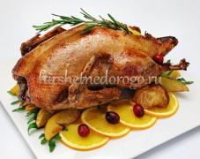 Утка запеченная в духовке, от 3 до 5 кг