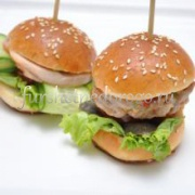 Мини-бургер с котлеткой