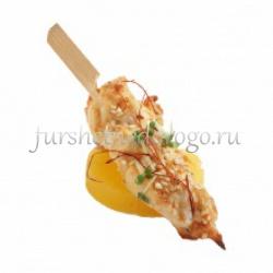 Куриные грудки с маринованным ананасом